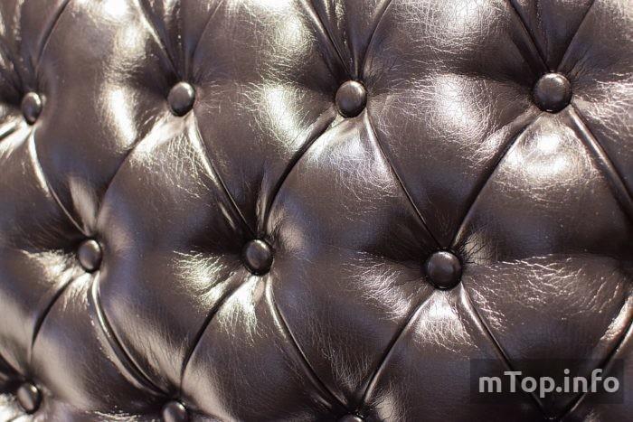 Обивка дивана из кожи